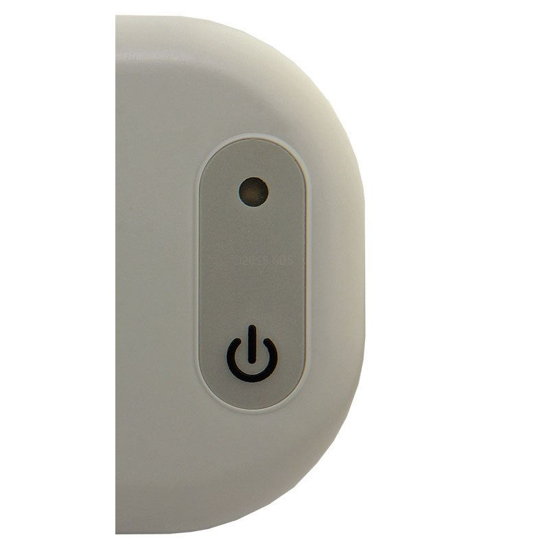 Threshold Pet Barrier Transmitter Power Button Detail