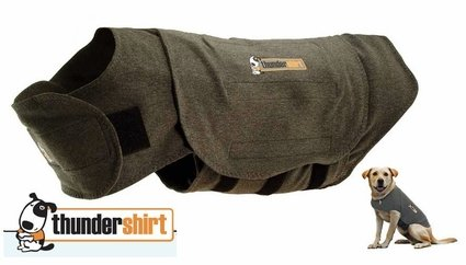 ThunderShirt Calming / Anti-Anxiety Vest for Dogs -- Gray