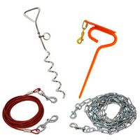 buy  Tie-Out Cables, Chains and Stakes
