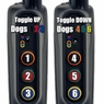 PRO 70 Toggle Up, Toggle Down