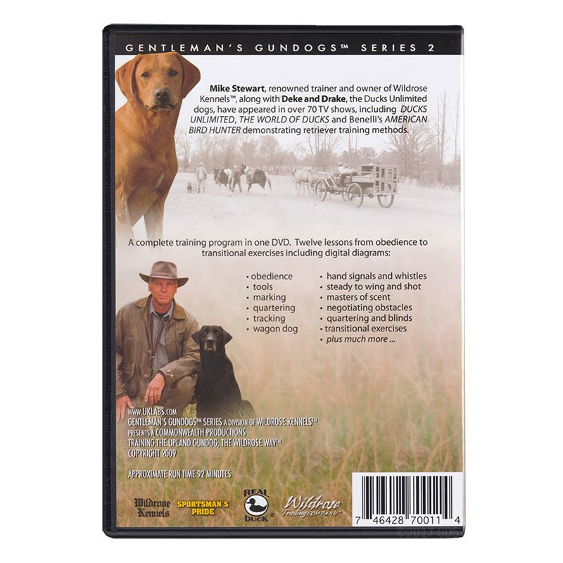 Training the Upland Gundog DVD back
