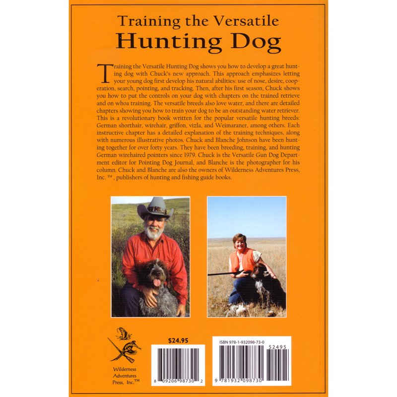 Training the Versatile Hunting Dog Back Cover Detail