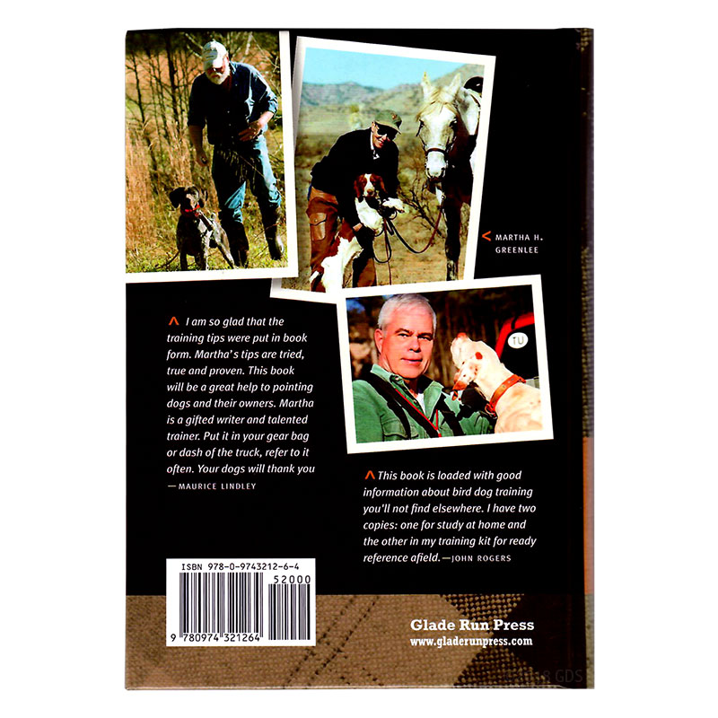 Training Tips Your Bird Dog Will Love Back Cover