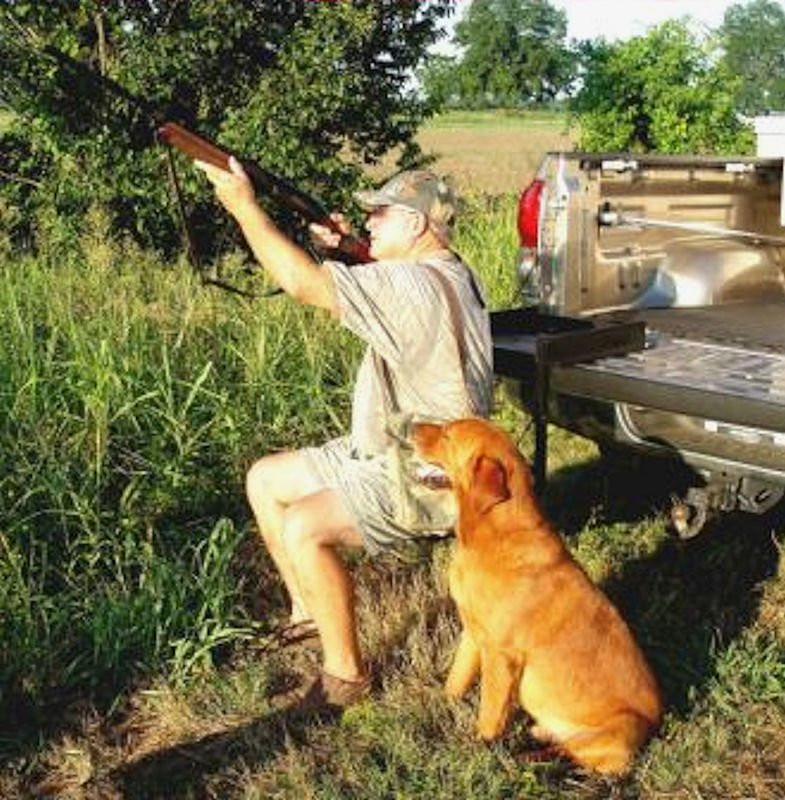 Truck 'n Buddy as a Hunting Seat
