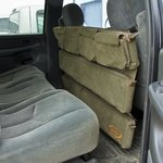 shop Truck Seat Organizer Side View Installed