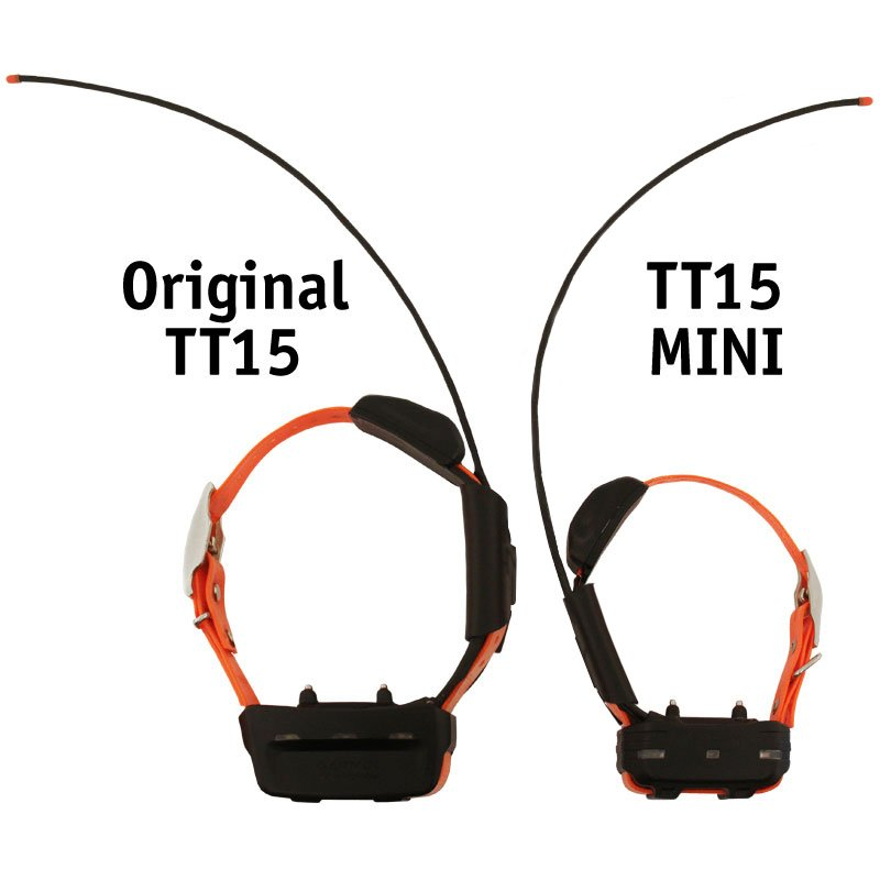 TT15 MINI Collar Size Comparison