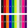 TT15 Multi Dog Collar Colors