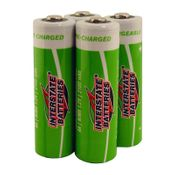 shop Interstate Battery Rechargeable NiMH AA Battery 4-Pack