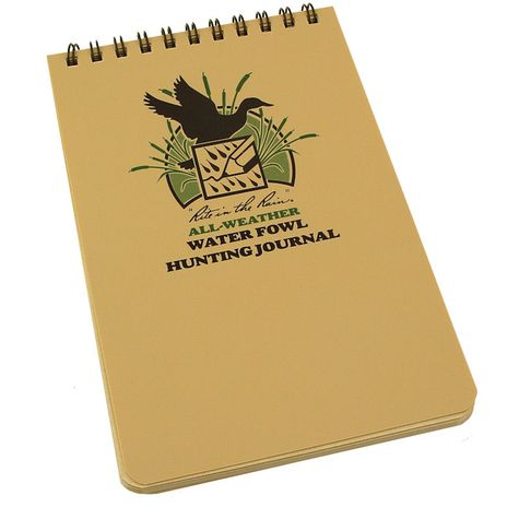 Water Fowl Hunting Journal Refill