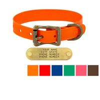 shop WigWag 3/4 in. Petite Dog Collar -- Fits 9-12 in. Neck