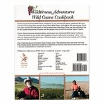 shop Wilderness Adventures Wild Game Cookbook back cover
