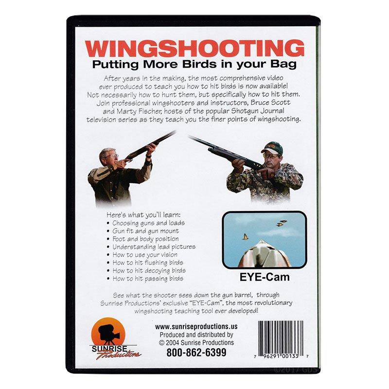 Wingshooting: Putting More Birds in Your Bag DVD back