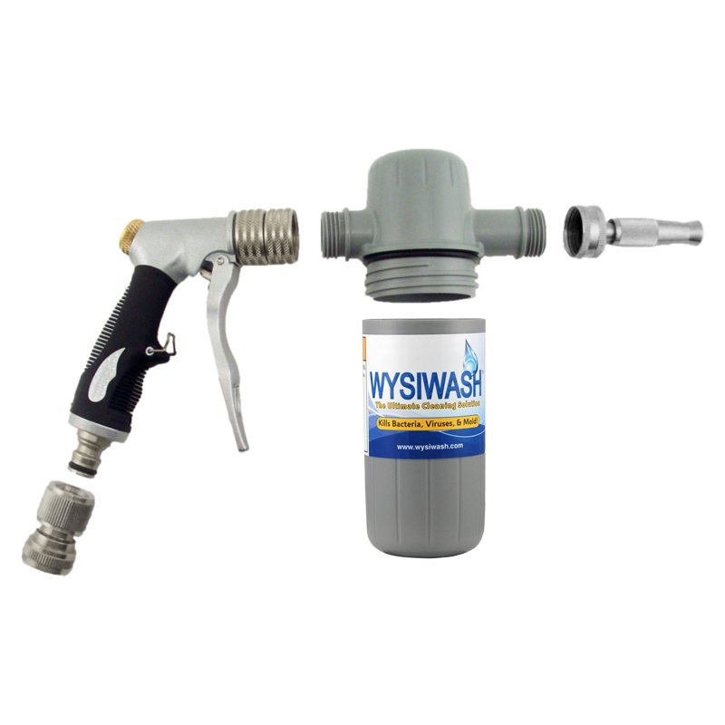 Wysiwash Sanitizer Sprayer Disassembled