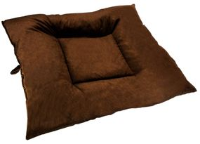shop X-LARGE Bizzy Beds™ Dog Bed -- Brown