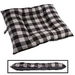 shop BLOWOUT SALE -- X-LARGE Bizzy Beds® Dog Bed -- Buffalo Black / Gray Two-Tone