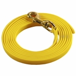 shop Yellow 10ft. Puppy Drag Check Cord