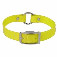 shop Yellow 3/4 in. Center Ring Day Glow Collar - 12 inch