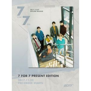 GOT7(갓세븐) - 7 FOR 7 [PRESENT EDITION]