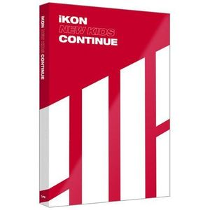 IKON(아이콘) - NEW KIDS: CONTINUE [RED VER]