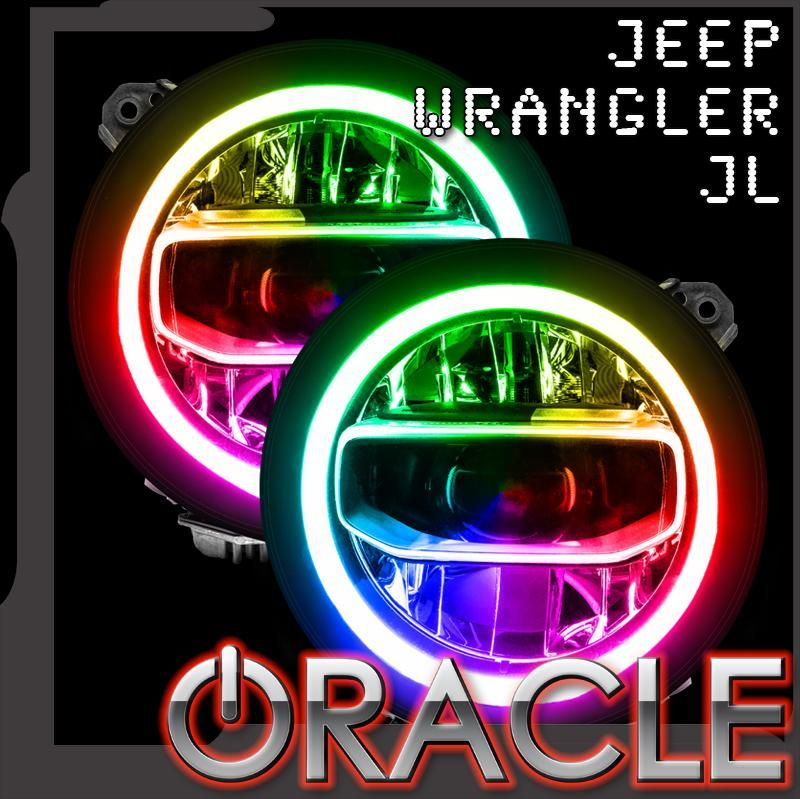 Oracle Halo Lights For Jeep Wrangler