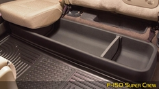 Husky Gearbox Under Back Seat Storage System For Ford