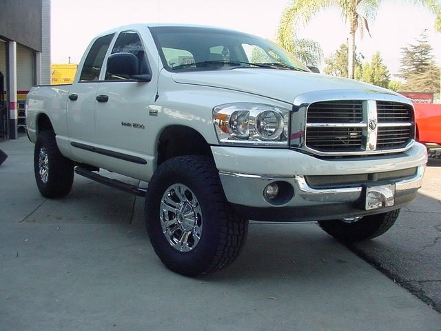 Dodge Lift Kits >> 2002 2008 Dodge Ram 1500 2wd Lift Kit W Fabricated Spindles By Cst 4 Front 1 Rear Lift