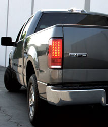 2004 2008 Ford F 150 Ipcw Led Tail Lights Red