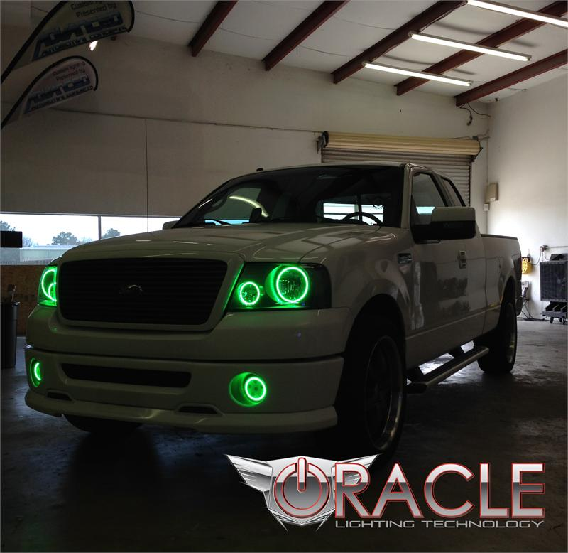 Oracle Halo Fog Lights Complete Emblies Oem Style For Ford 2005 2008 F150