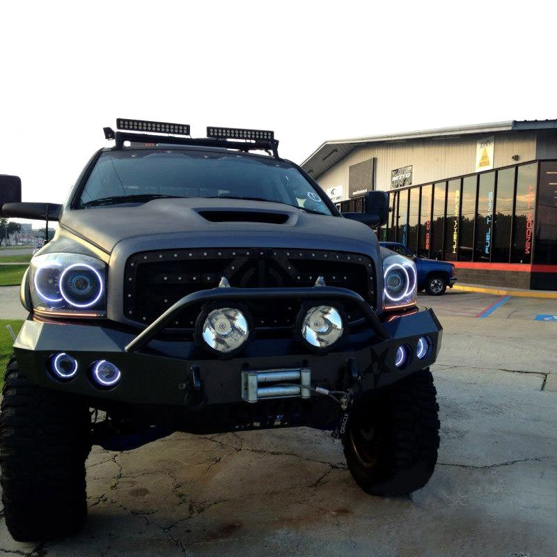 2006 2008 Dodge Ram Led Halo Kit For Headlights By Oracle