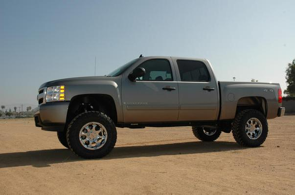 2007 2013 Chevy Silverado 1500 Complete Lift Kit By Cst 8 Lift