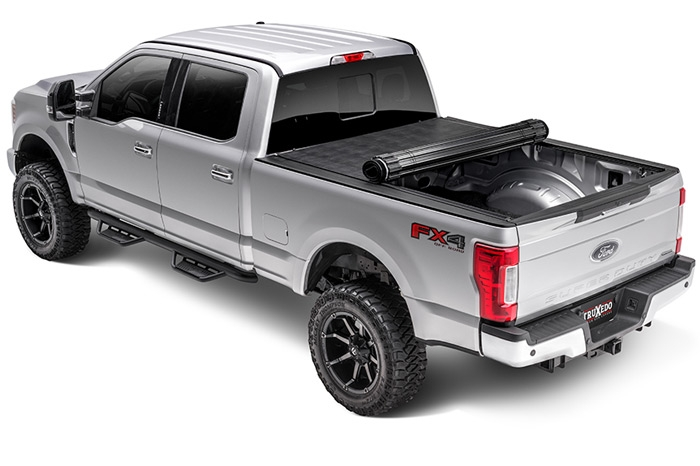 Truxedo Sentry Gloss Black Roll Up Tonneau Cover For Chevy