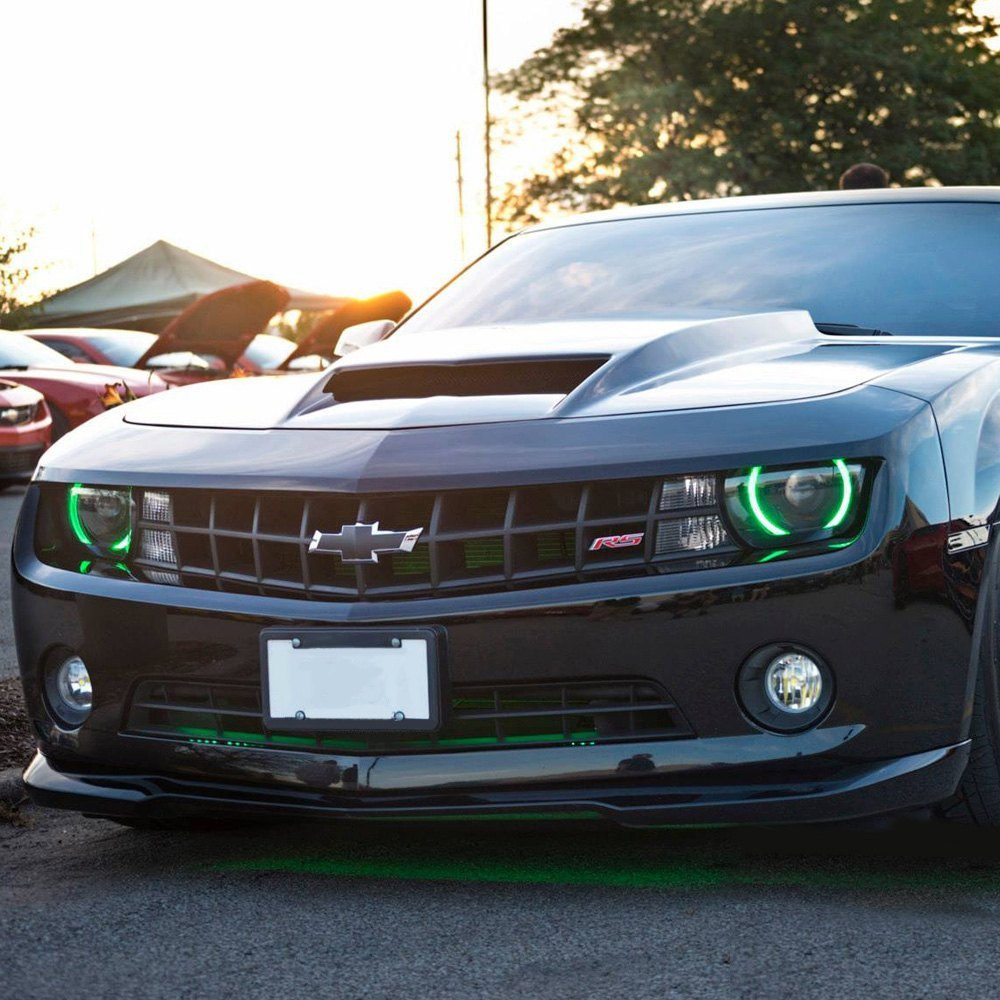 Oracle Halo Lights For 2007 2013 Chevy Camaro 2010 2013 Chevy Camaro Rs Led Halo Kit For Headlights By Oracle