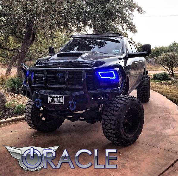 Oracle Halo Lights For Dodge Ram 2009