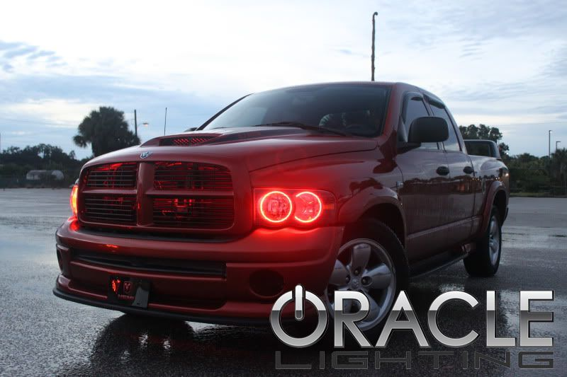 2002 2005 Dodge Ram Oracle Halo Headlights Complete Emblies
