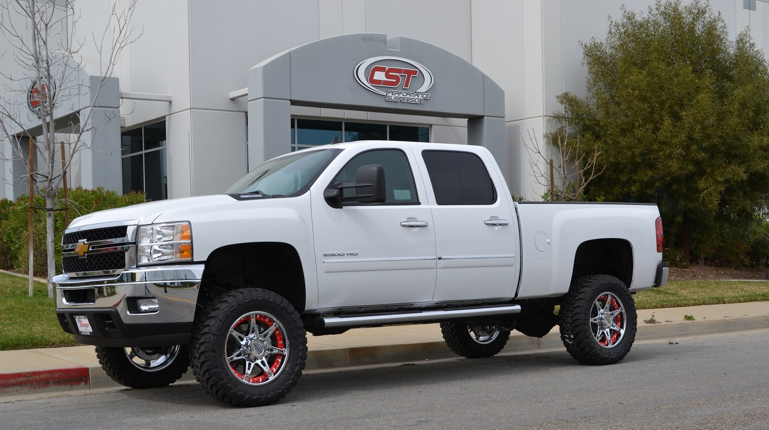 2011 2019 Chevy Silverado Gmc Sierra 2500hd 2wd 4wd Stock Torsion Location Lift Kit By Cst 3 6 Front 1 Rear Lift