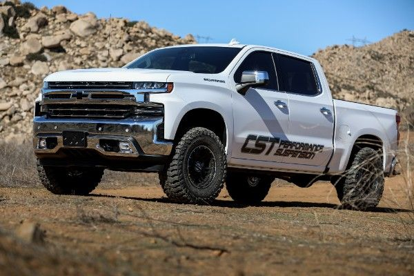 2019 chevy silverado gmc sierra 1500 new body cst suspension stage 7 lift kit 1 3 5 front 1 rear lift