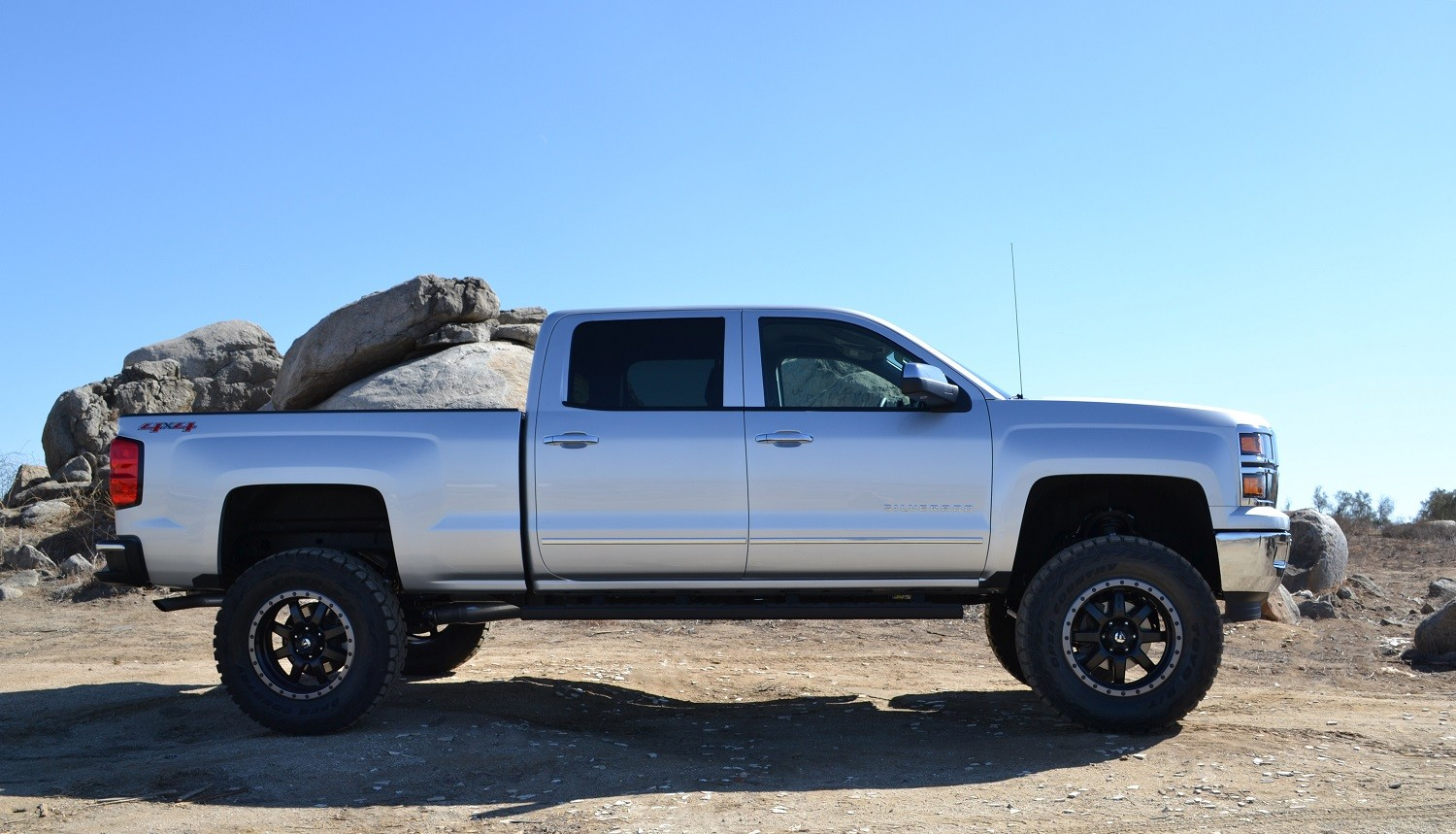 2014 Chevy Silverado Lifted >> 2014 2018 Chevy Silverado 1500 4wd W Steel Oem Suspension Complete Lift Kit By Cst 8 Lift