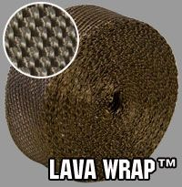 Heatshield Products Lava Wrap Exhaust Wrap 2000 Degree