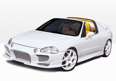IPCW Euro Tail Lights for Honda Del Sol