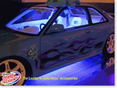 Neon and LED Car Lights