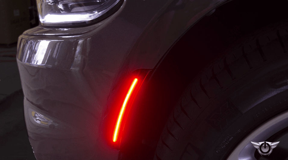 2017 2019 Dodge Charger Led Sidemarker Light Kit Smoked Tinted By Oracle