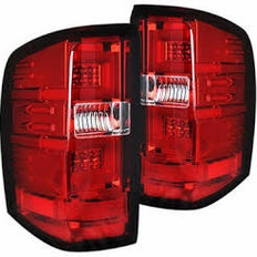Recon Led Tail Lights For Chevy Silverado 2015 2017 Chevy