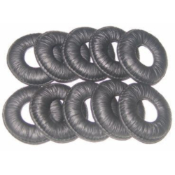10-pack King Size Leatherette ear cushions (GN9125 Duo/BIZ1900/GN2000 Series/BIZ1500)