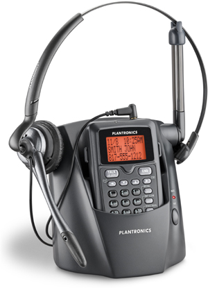 80057-11 Plantronics CT14 Cordless Headset Phone with DECT 6.0