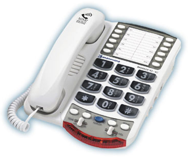 Ameriphone XL40 Extra Loud & Clear Amplified Telephones (43 dB)