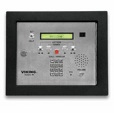 Apartment Entry System with Accessibility Features and Color Video