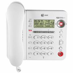 AT&T 1856 Corded Phone with Digital Answering System