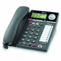 AT&T 993 2-Line Corded Speakerphone with Caller ID