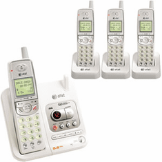 AT&T EL42408 5.8GHz 4 Handset System with Digital Answering System