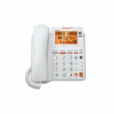 ATT-CL4940 Corded Answering System w/Large Display